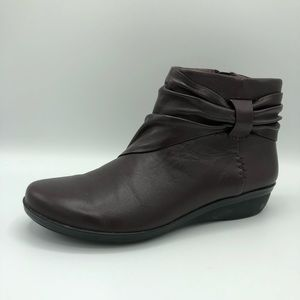 Clarks Collection Soft Cushion Booties
